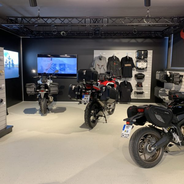 Motorcycle Showroom SW-Motech