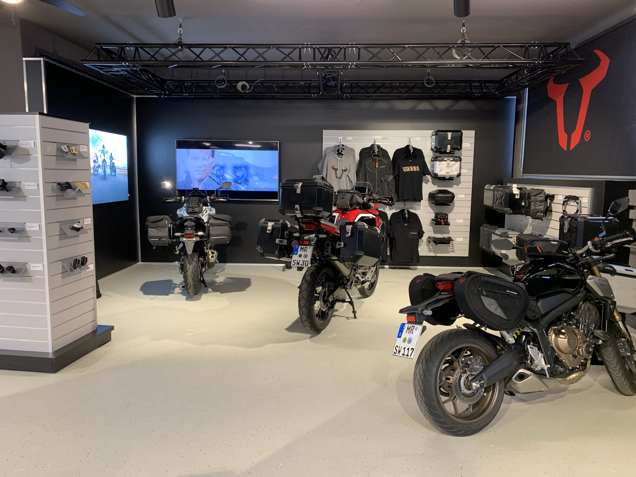 Motorrad Showroom SW-Motech
